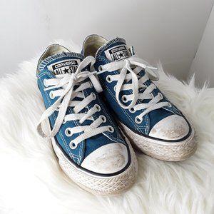 CONVERSE Chuck Taylor Low Top Sneakers AQUA 6.5